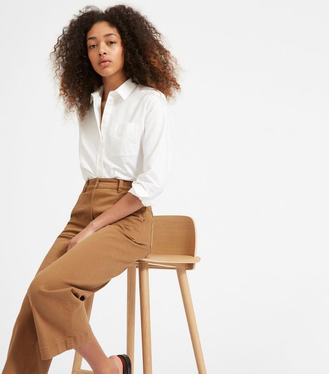 Women's Japanese Oxford Shirt by Everlane in White, Size 12