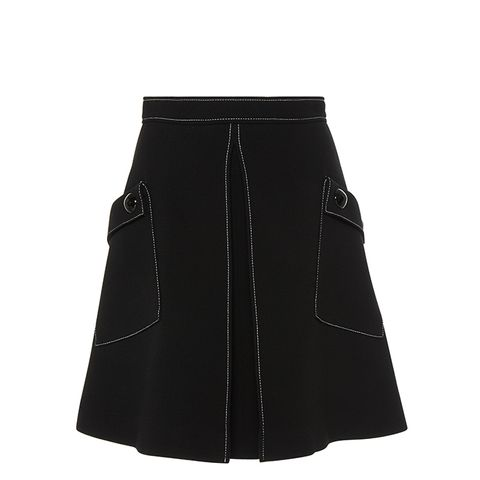 Top Stich Mini Skirt