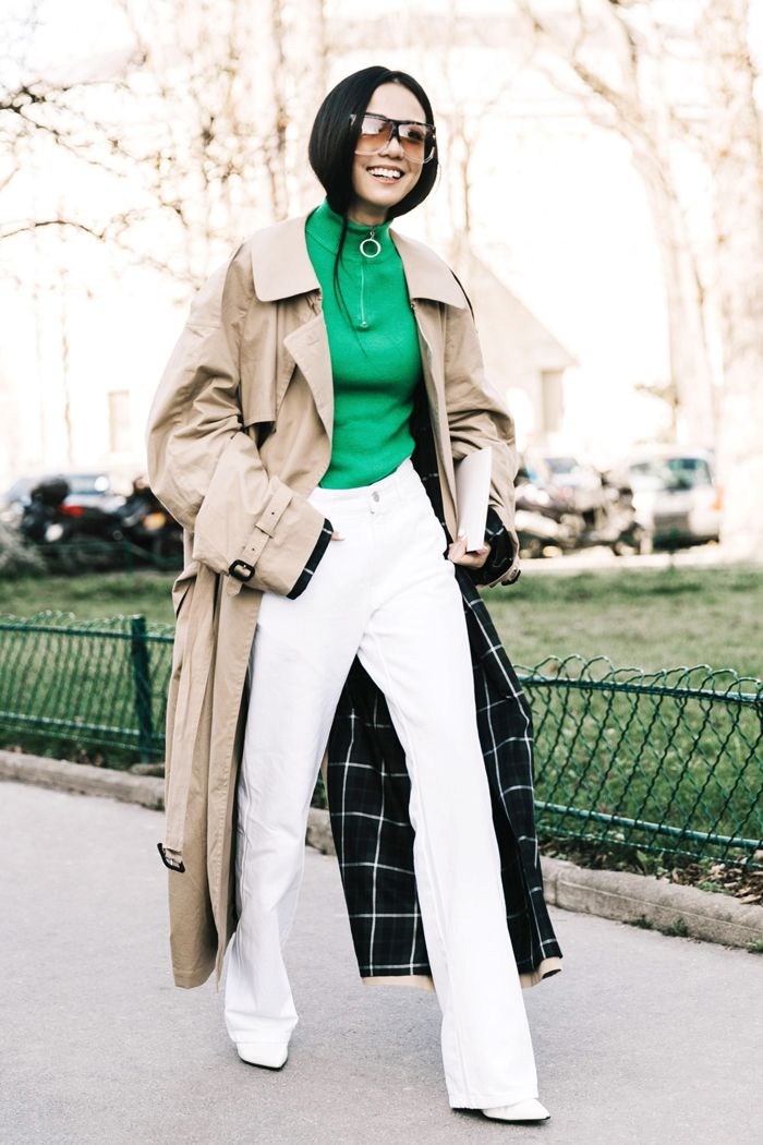 11 Fresh Trench Coat Outfits to Try This Season | Who What Wear