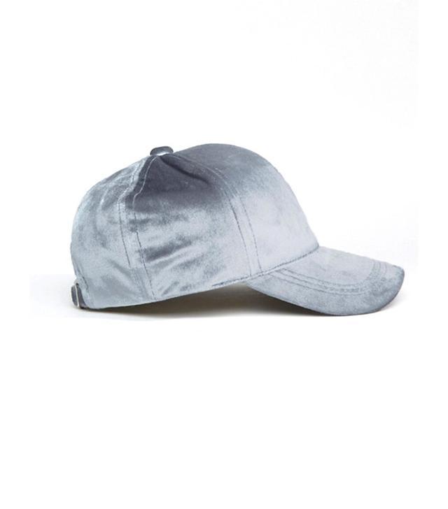 ASOS Velvet Baseball Cap