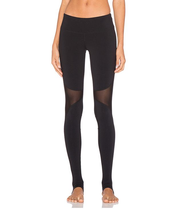 Alo Coast Mesh Insert Stirrup Leggings