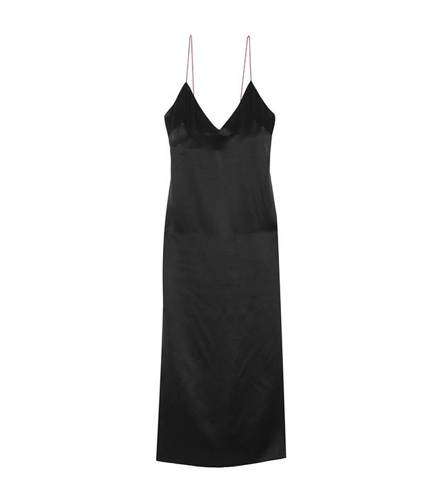 Rag & Bone Nina Silk-Charmeuse Midi Dress