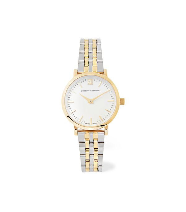 Lugano Vasa Gold-Plated and Stainless Steel Watch