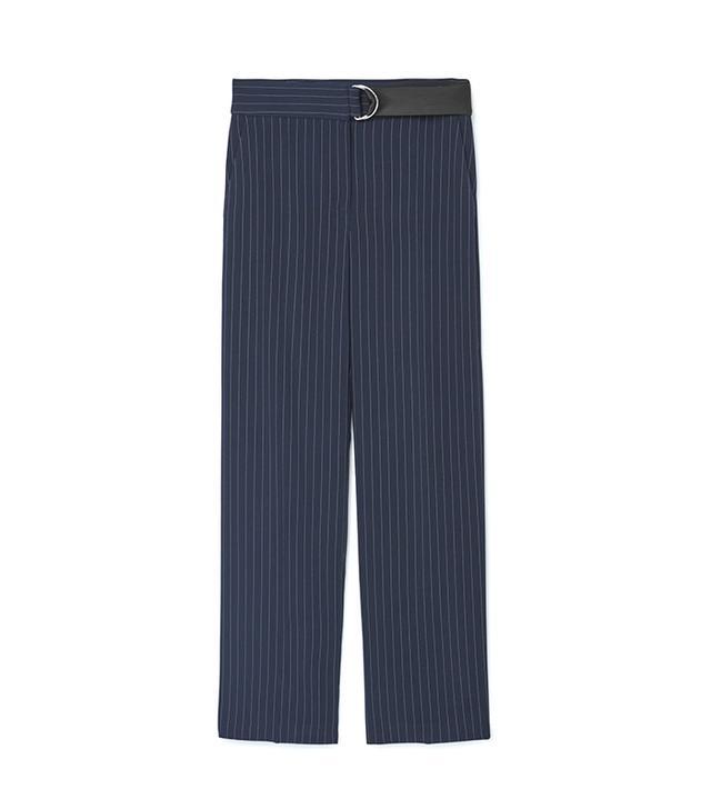 Chalk-stripe Pants