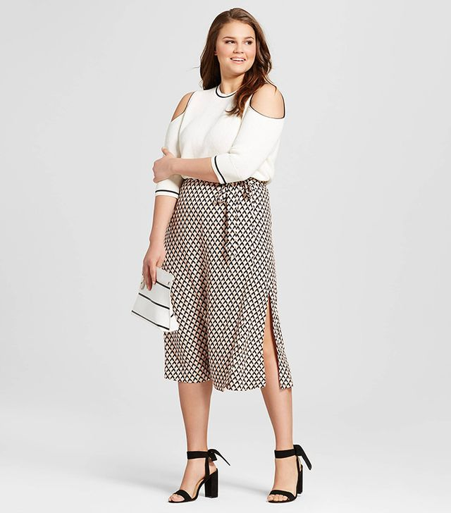 Women's Plus Size Wrap Skirt