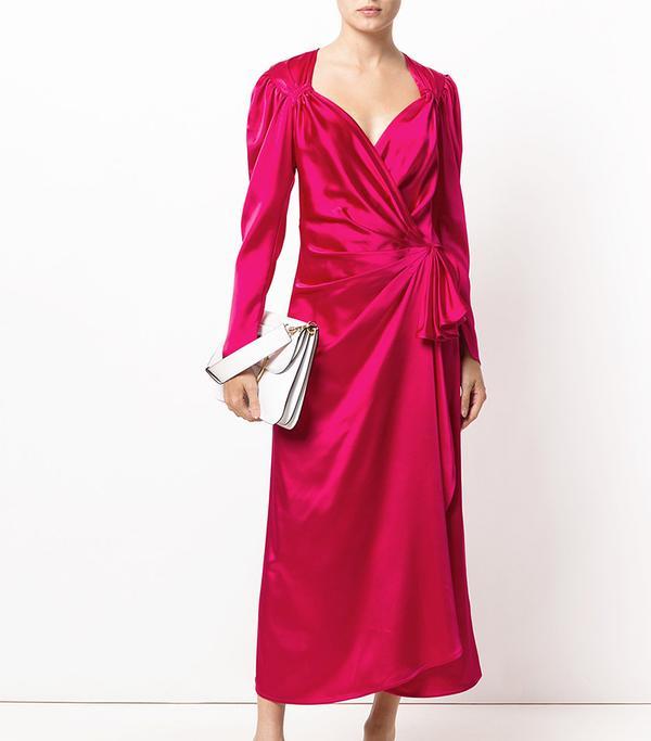 sweetheart neck long evening dress