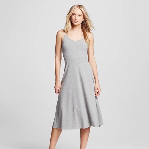 Knit Skater Midi Dress