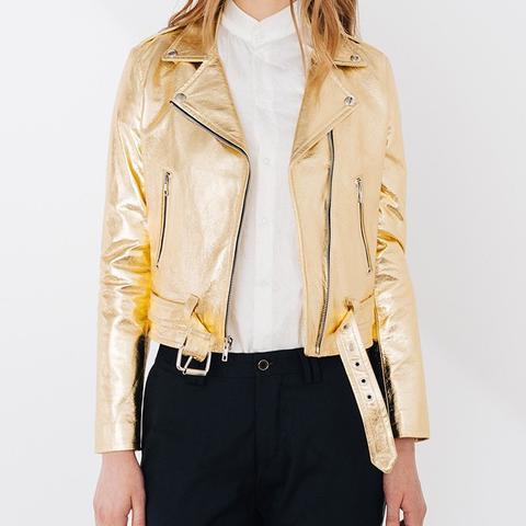 Gold Shrunken Moto