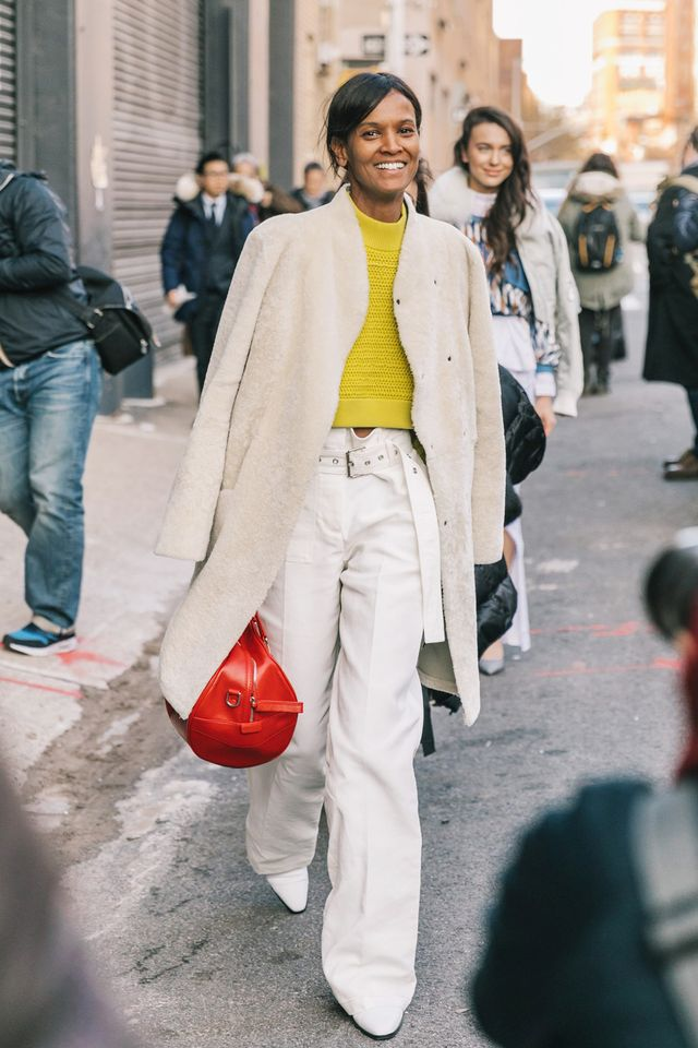 Sometimes wearing all blackcancome across as too severe. In that case, we recommend varying shades of lighter neutrals like white, cream, and beige. Try a brightly colored top to...