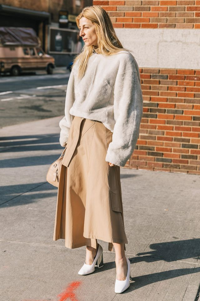 Another great way to show off your personality while maintaining a totally professional look is the through the shapes and silhouettes you wear. Instead of a classic pencil skirt, try out a midi...