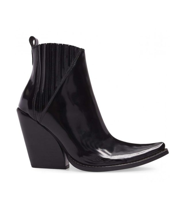 Homage Point Toe Booties