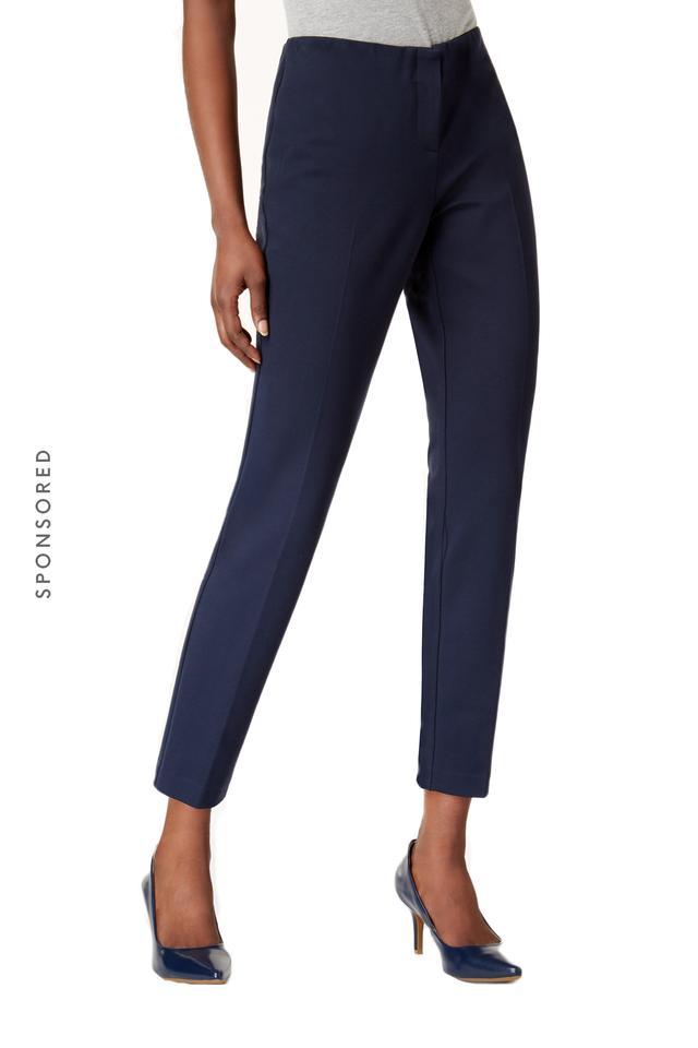 Alfani Modern Skinny Ponté Pants, Created for Macy's