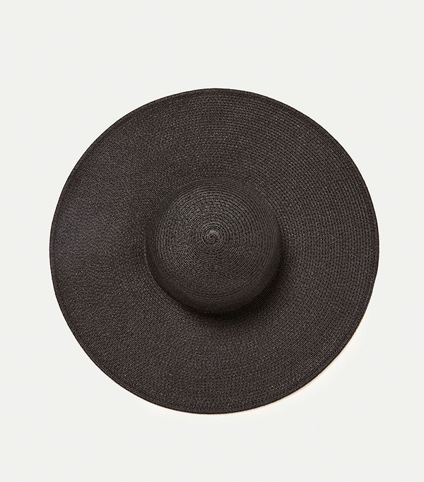 hot to wear hats - Zara Wide Brimmed Hat