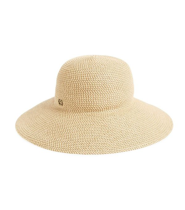 how to wear hats - Eric Javits 'Hampton' Straw Sun Hat