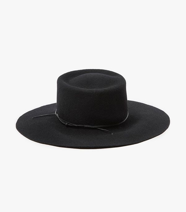 spring hats - Brookes Boswell Reinette in Black