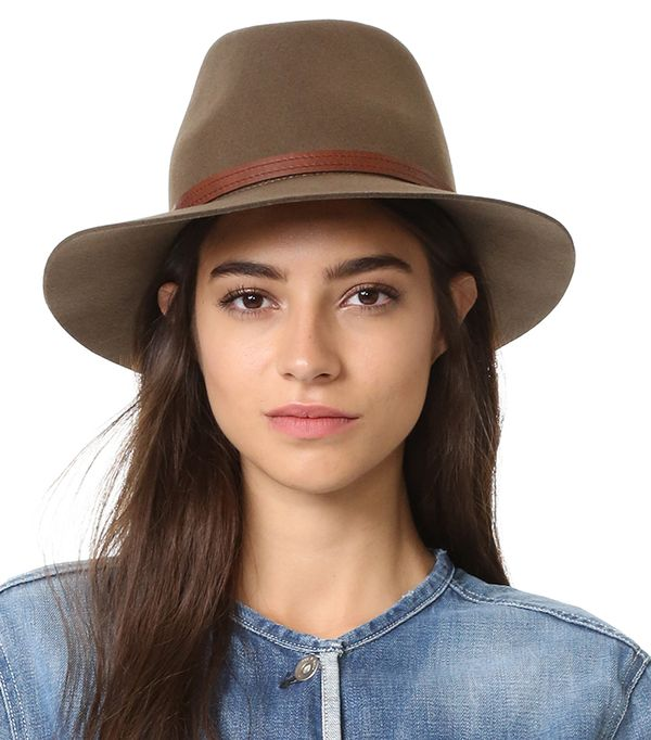 hot to wear hats - Rag & Bone Floppy Brim Fedora