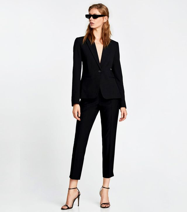 Zara Ankle Cropped Trousers