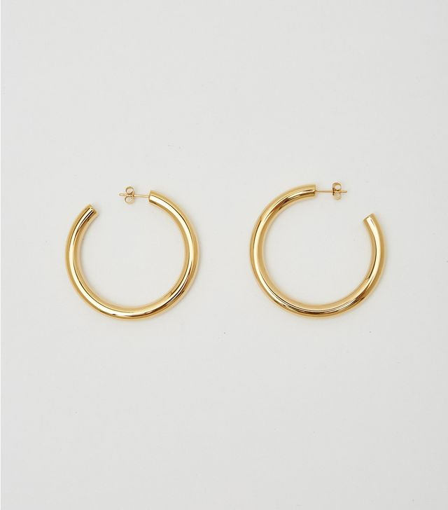 WWAKE Arc 14-Karat Gold Opal Earrings
