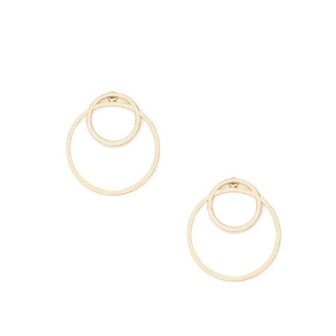 Cutout Circle Ear Jackets