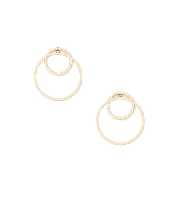 Forever 21 Cutout Circle Ear Jackets