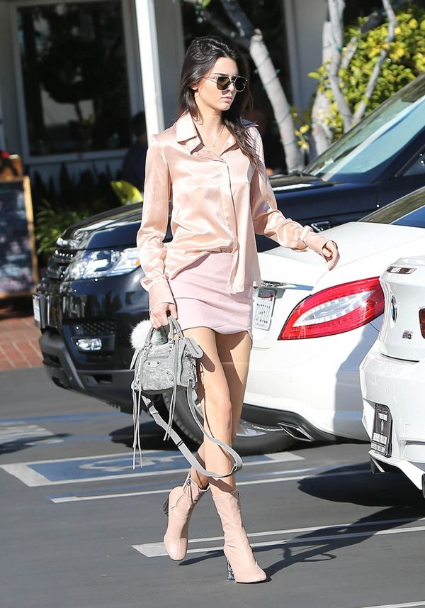 Kendall Jenner in pink