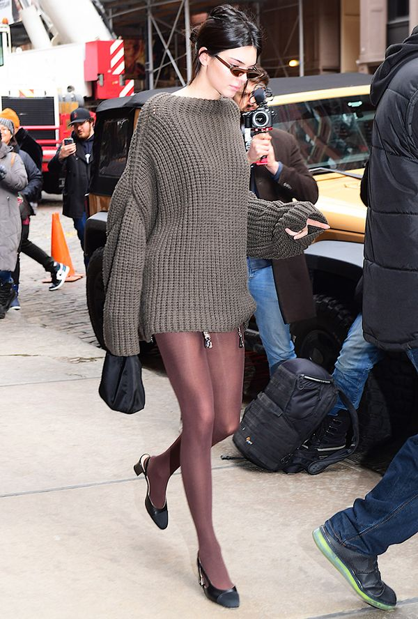 kendall jenner, tights