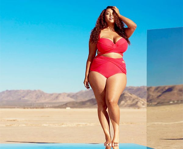 """If You Have a Larger Bust """"Look for halter tops with thick ties and bra-style tops, both of which offer great support,"""" Sabra Krock, creative director of swim shop Everything But..."""