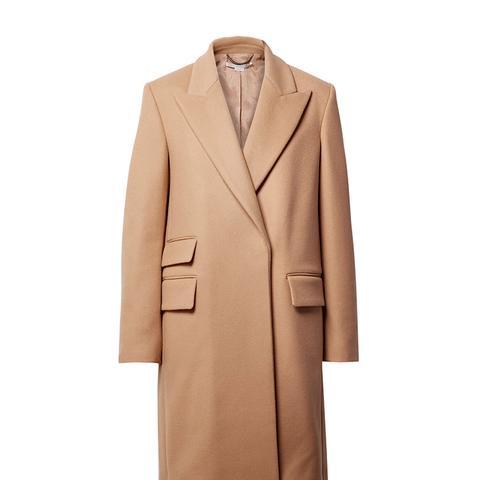 Melton Wool-Blend Coat