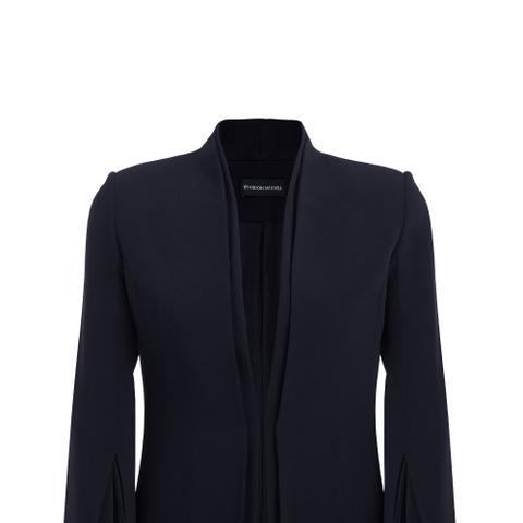Crepe Split Sleeve Jacket