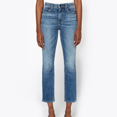 High-Rise Jeans Light Indigo