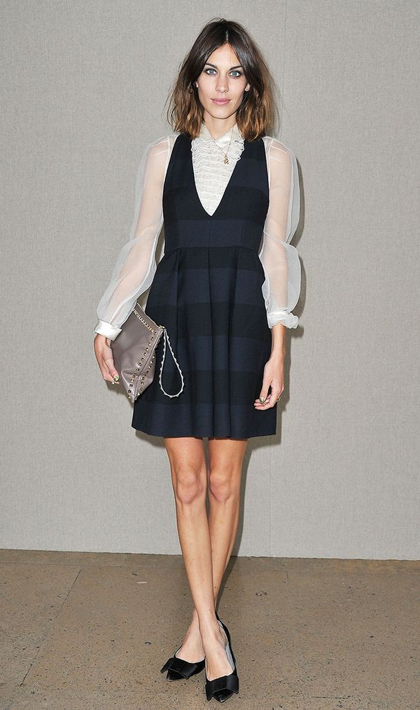 Alexa Chung at Louis Vuitton SS RTW 2012