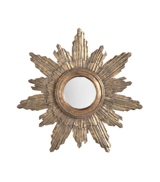 Wisteria Halo Sunburst Mirror