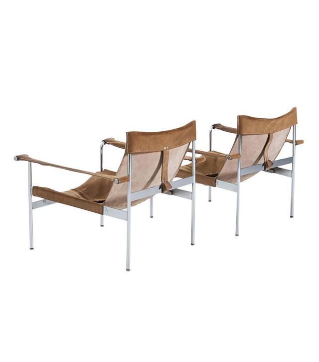 Hans Könecke Pair of D 99-L Sling Lounge Chairs