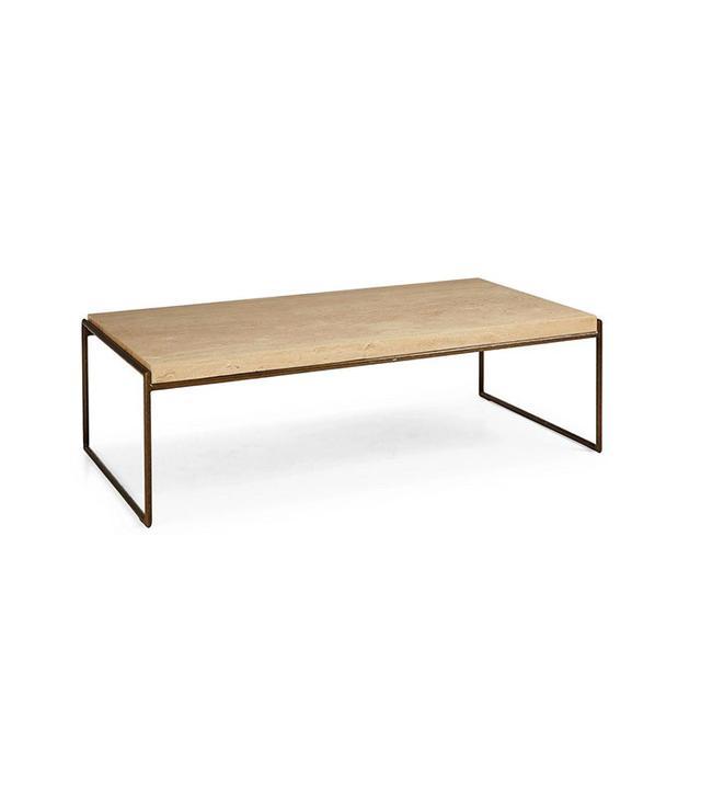 Interlude Mia Marble Coffee Table