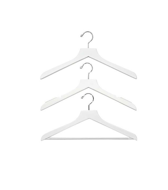 The Container Store Wood Hangers