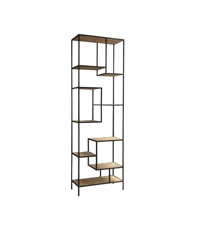 West Elm Reclaimed Pine + Iron Bookcase