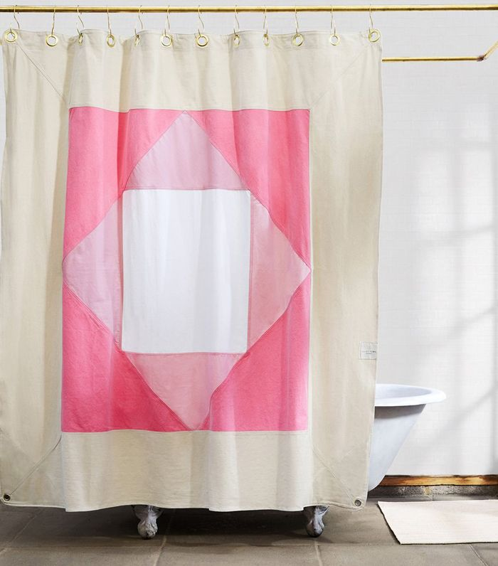 best shower curtains. The Best Shower Curtains To Update Your Bathroom For Under $200 | MyDomaine N