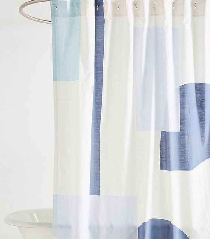 best shower curtains. The Best Shower Curtains To Update Your Bathroom For Under $200 | MyDomaine