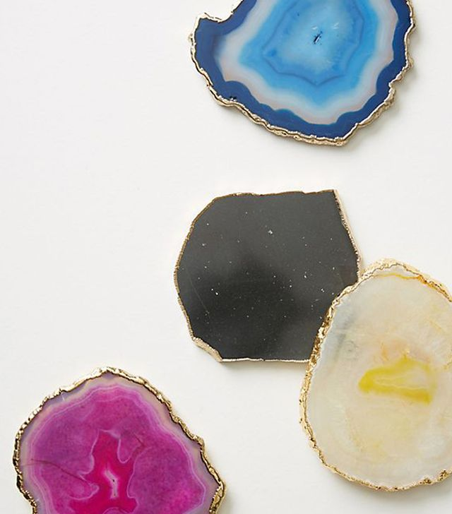 Slivered Geode Coaster