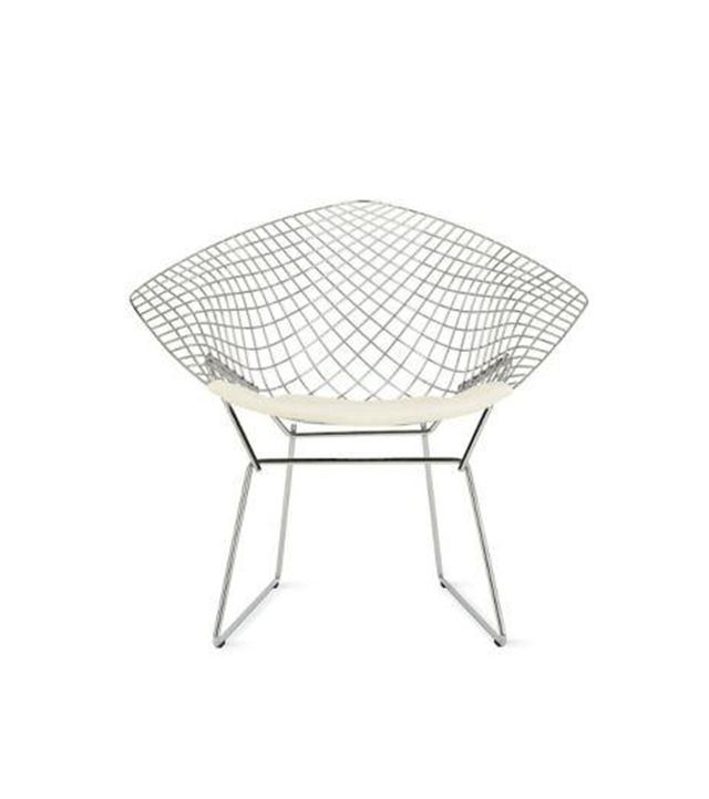 Bertoia Diamond Lounge Chair with Seat Pad
