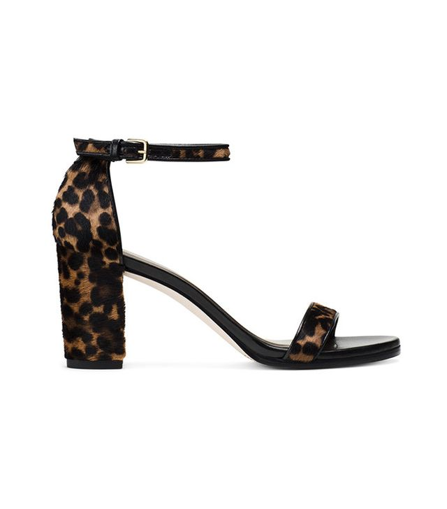 Stuart Weitzman The Pipe Nearlynude Sandals
