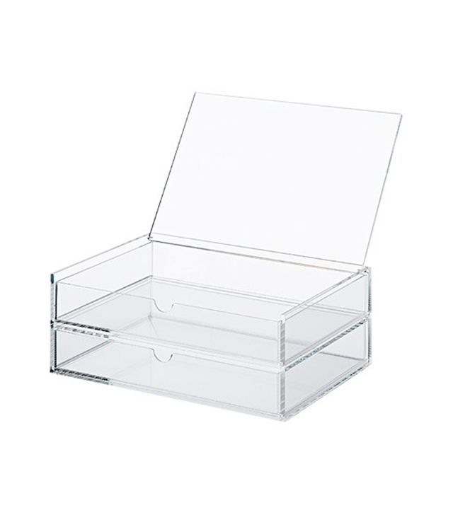 Muji Two Drawer Acrylic Case