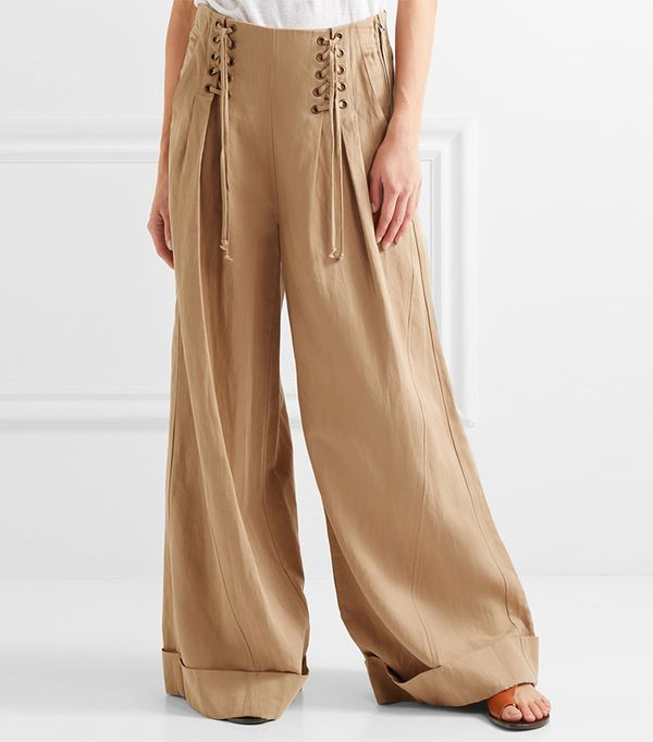 how to wear gaucho pants - Ulla Johnson Gaucho Pants