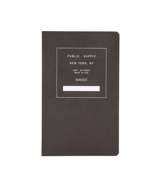 Public Supply Dot Paper Notebook