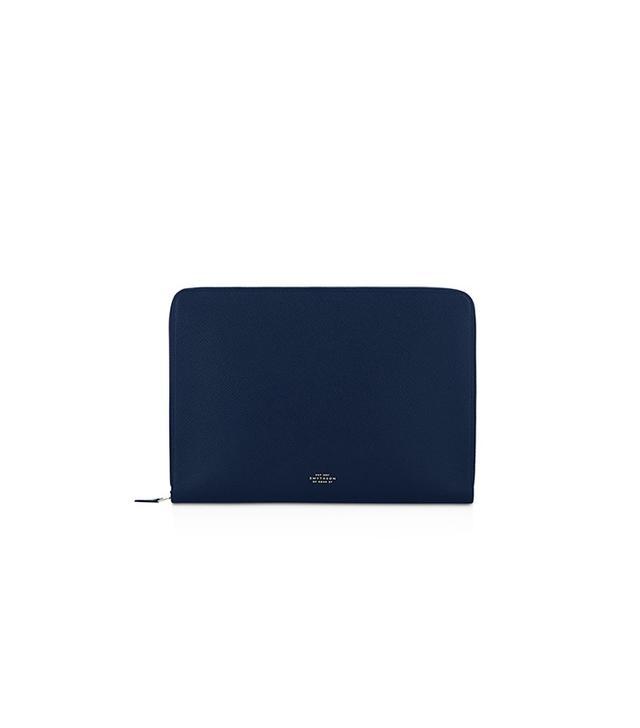 """Smythson 13"""" Laptop Case"""