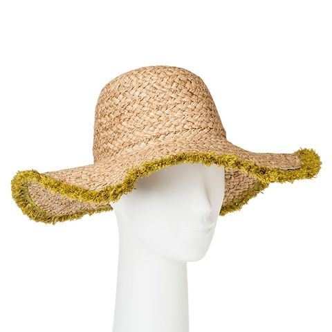 Fringed Straw Hat