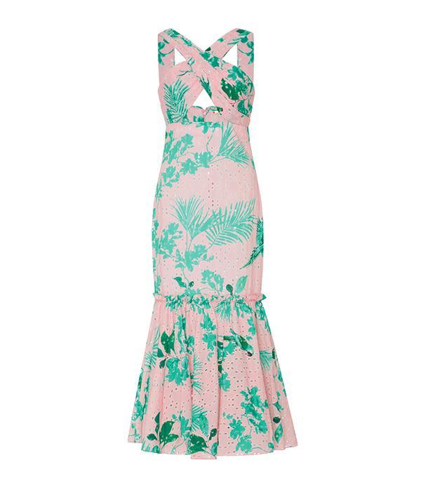 beach wedding dresses - Johanna Ortiz M'O Exclusive San Marcos Broderie Anglaise Cotton Dress