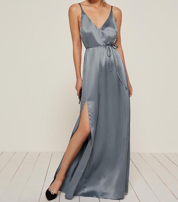 beach wedding dresses - Reformation West Dress