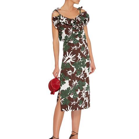 Blooming Onion Midi Dress