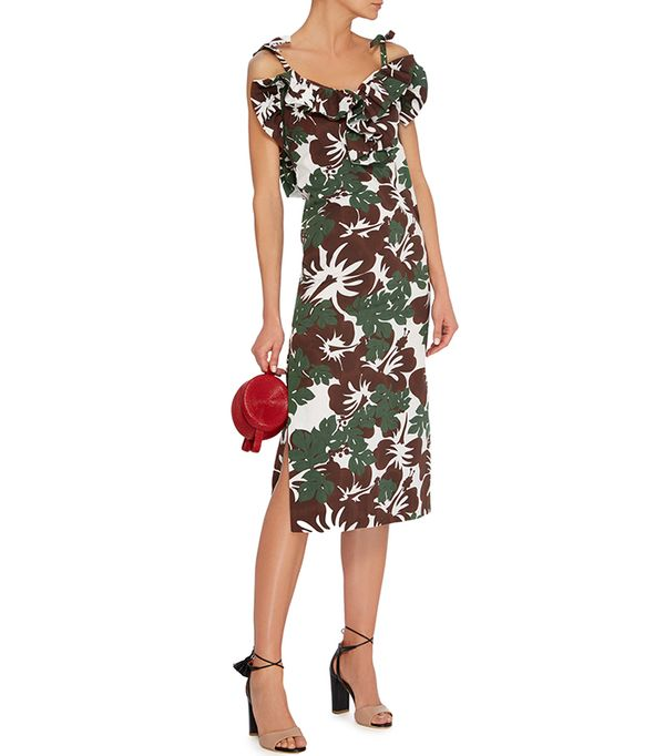 beach wedding dresses -  Rosie Assoulin Blooming Onion Midi Dress